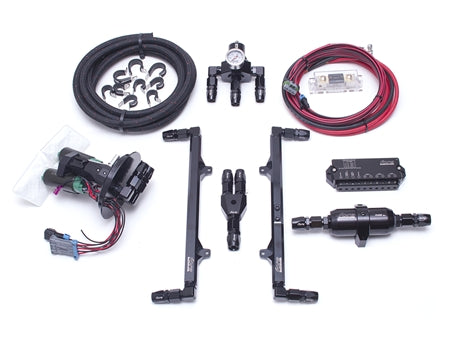 2011-2017 Mustang GT L4 Fuel System (dual pump) - Includes GT350