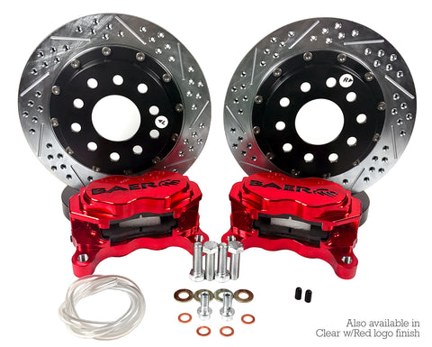 "BAER 11.62"" Rear SS4+ Drag Race Brake System (15-19)"