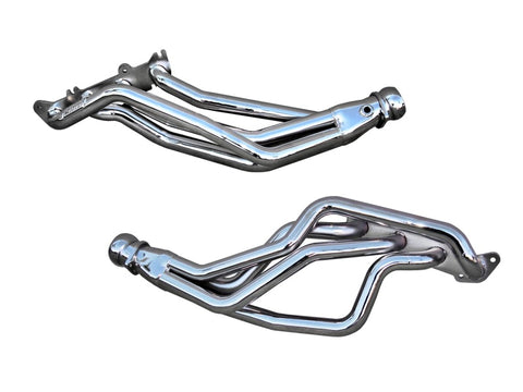 BBK 79-04 Mustang Coyote Swap Long Tube Exhaust Headers - 1-3/4 Chrome