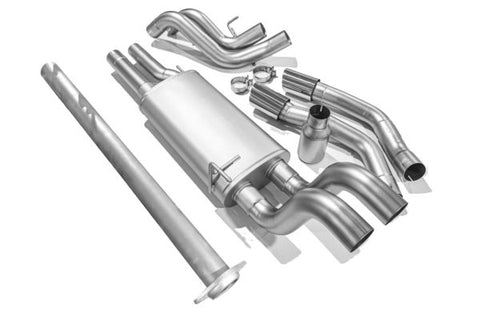 Ford F150 Catback Exhaust ('15-'20) True Dual Cat Back Exhaust System (Polished)