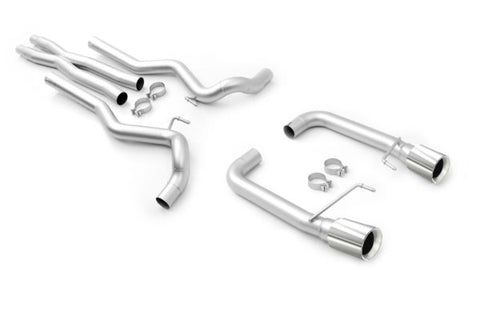Ford Mustang ('15-'17) Gen 2 Coyote Race Exhaust Cat Back System (Polished Tips)