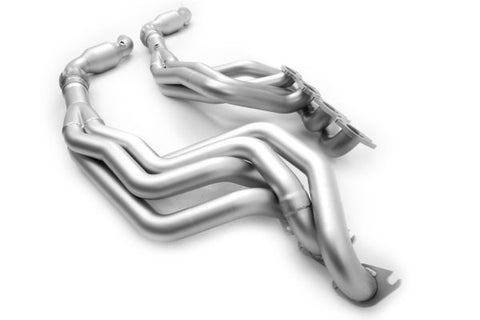 "Ford Mustang ('15-'20) Long Tube Headers High Flow Catalytic Converter – S550 Headers 2"" Primary"