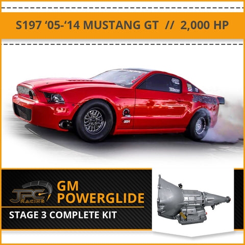 2015-2020 S550 Powerglide Package - Stage 3 (2,000 HP)