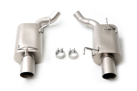 Long Tube Headers Axle-Back Exhaust System Black Tips Patriot Series GT 2005-2010