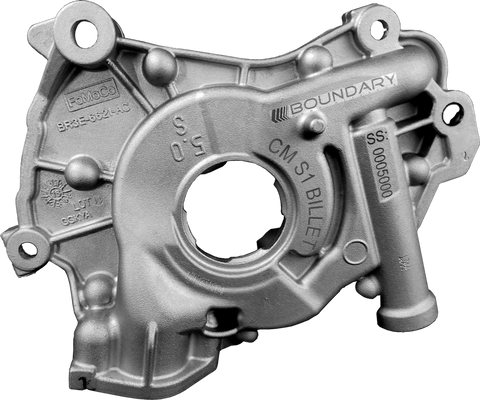 Boundary 2018+ Ford Coyote Mustang GT/F150 V8 Oil Pump Assembly w/Billet Back Plate