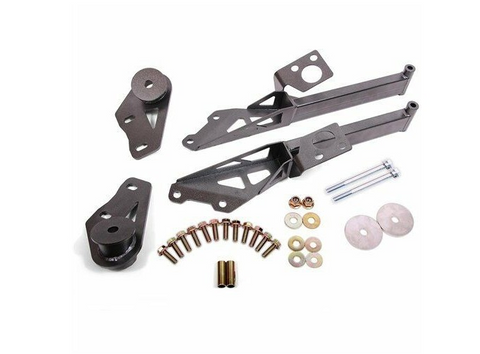 BMR 15-20 Ford Mustang S550 IRS Subframe Support Brace (Black Hammertone)