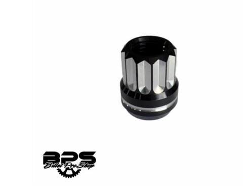BPS M14 X 1.5 TWELVE POINT ACORN STYLE ALUMINUM LUG NUTS (SET OF 10)