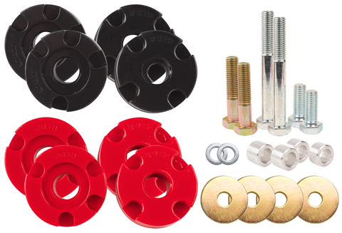 Steeda S550 Mustang Adjustable Differential Bushing Insert System - Urethane GT, Ecoboost, V6 (2015-2020)