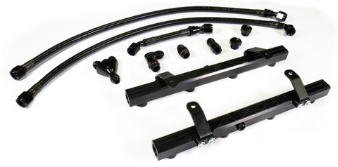 DivisionX DX-5200-KIT Billet High Flow Fuel Rail Kit (2020+ 5.2L Shelby GT500)