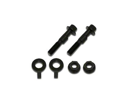 BMR 05-14 S197 Mustang Front Camber Bolts (2 Degree Offset) - Black