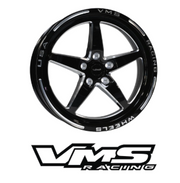 VMS RACING 18X5 5X114.3 -12 OFFSET FOR 2005-2019 S197 & S550 FORD MUSTANG (PART# VWST014)