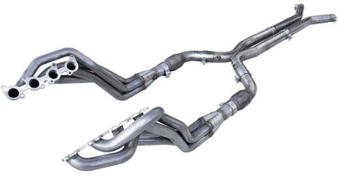 "ARH LONG EXHAUST SYSTEM 2"" HEADERS OFF-ROAD X-PIPE (2018+ MUSTANG GT) MTC5-18200300LSNC"