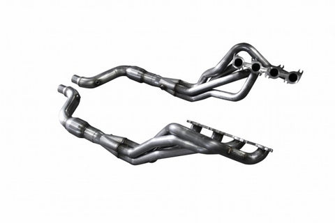 "American Racing Headers 2015-2017 Mustang GT 1-7/8"" x 3"" Long Tube Headers and 2-1/4"" Catted Direct Connect Pipes"