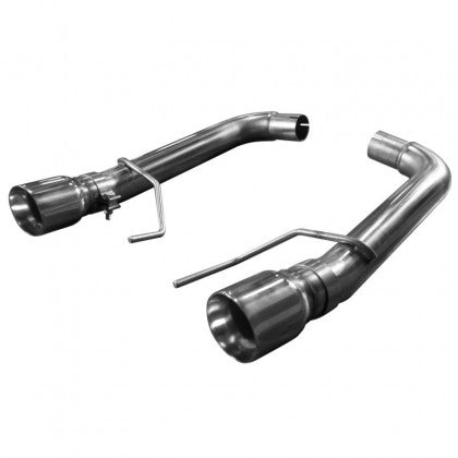 "Kooks 2015-2017 Mustang GT OEM to 3"" Axle Back Exhaust w/ Muffler Deletes (Polished Tips)"