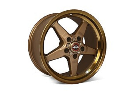 "Race Star Bracket Racer Wheel 18"" x 5"" - Bronze"