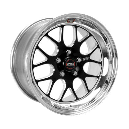 WELD 17X5 S77 FRONT WHEEL BLACK CENTER (99-04 LIGHTNING GEN 2) 77LB7050G16A