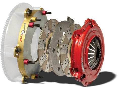 McLeod RXT 1200 Twin Disc Clutch Kit (2010-2014 GT500)