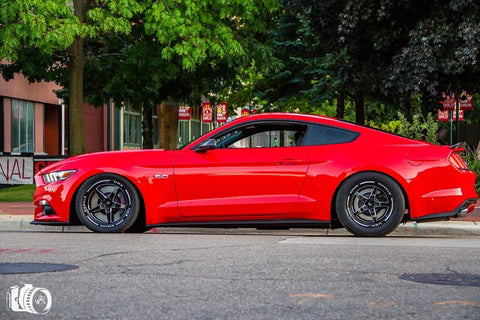 VMS RACING (2) 17X10 (54 OFFSET) & (2) 18X5 5X114.3 (-12 OFFSET) FOR 2005-2019 S197 & S550 FORD MUSTANG (FULL SET)
