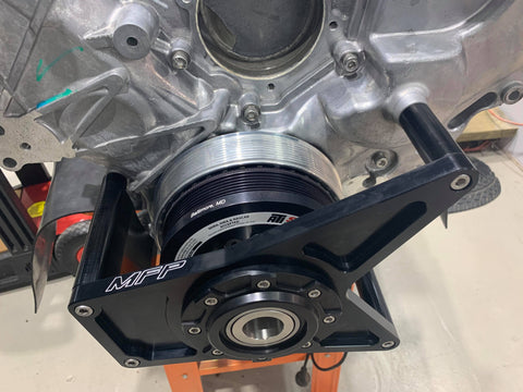 MFP Coyote Whipple F150 Crank Support (6-Rib)