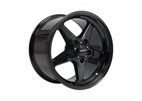 "Race Star Bracket Racer Wheel 17"" x 9.5"" - Gloss Black"