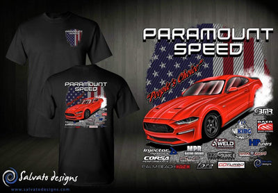 PRE ORDER - Paramount Speed 2019-2020 T Shirt - Red TT 18