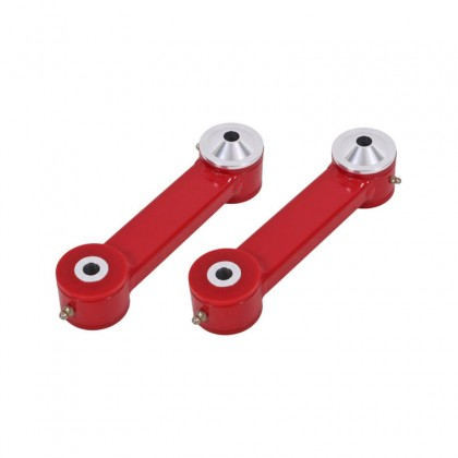 BMR TCA048R Vertical Links with Polyurethane Bushings - Red (2015-2020 Mustang S550)