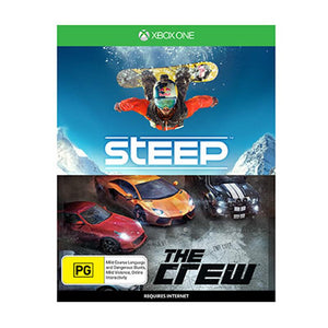Xbox One S 1TB Console + Steep (Game) + The Crew (Game)