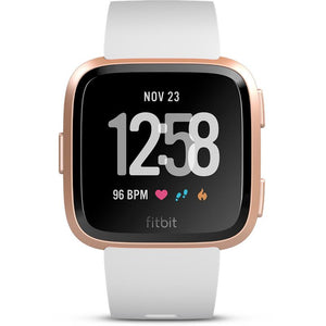 Fitbit Versa Smart Fitness Watch (White/Rose gold) - iChameleon