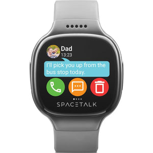 SPACETALK Kids Smartwatch with Phone and GPS (Grey) - iChameleon