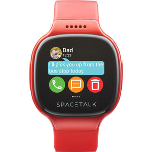 SPACETALK Kids Smartwatch with Phone and GPS (Red) - iChameleon