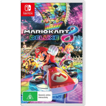 Load image into Gallery viewer, Nintendo Switch Console Grey (New Look Packaging) + Case + Screen Protector + Mario Kart 8 (Game)