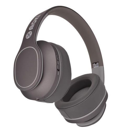 Moki Navigator Noise Cancelling Wireless Over-Ear Headphones For Kids (Grey) [Volume Limited] - iChameleon