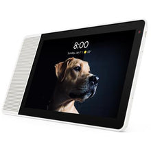 "Load image into Gallery viewer, Lenovo Smart Display 10"" (White/Bamboo)"