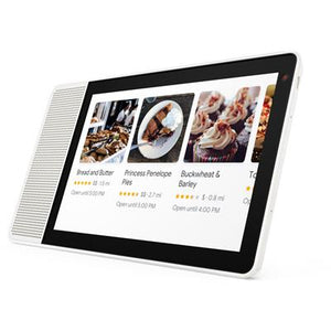 "Lenovo Smart Display 10"" (White/Bamboo)"
