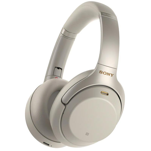 Sony WH1000XM3 Wireless Noise Cancelling Over-Ear Headphones (Silver) - iChameleon