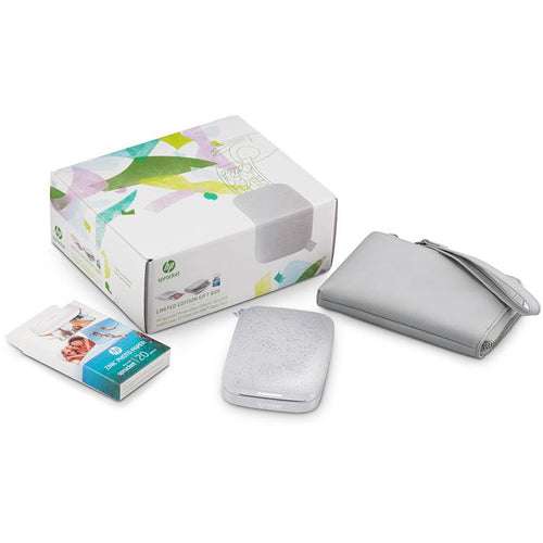 HP Sprocket Pocket Photo Printer 2nd Edition [Bundle] (Luna)