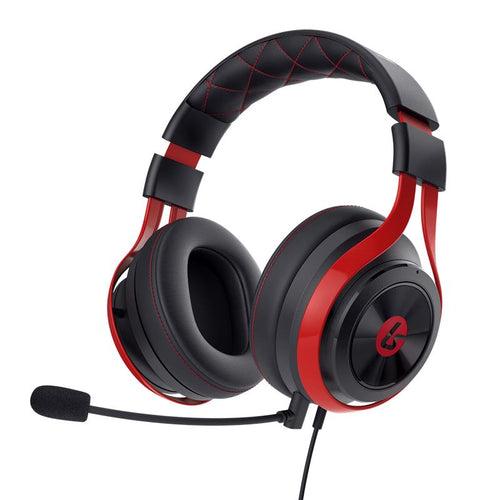 LucidSound LS25 Esports Stereo Gaming Headset Black/Red - iChameleon