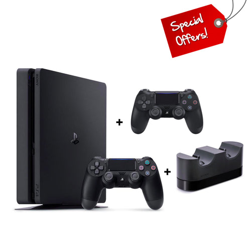 PS4 PlayStation 4 500GB Console + Extra Controller + Charging Station