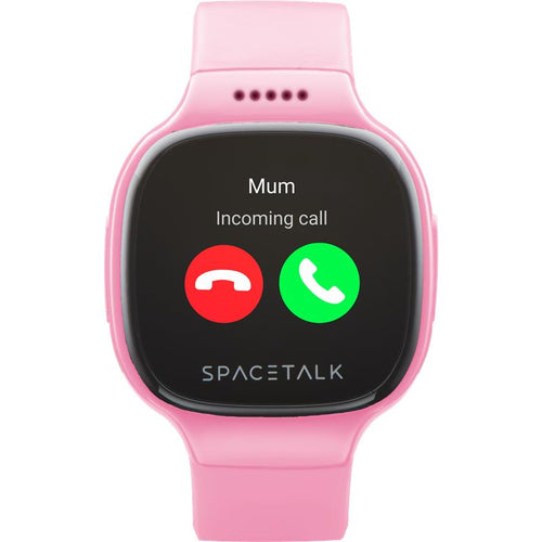 SPACETALK Kids Smartwatch with Phone and GPS (Pink) - iChameleon