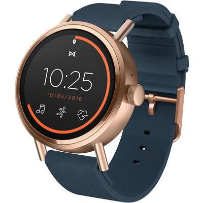 Misfit Vapor 2 41mm Smart Watch (Rose Gold/Navy)