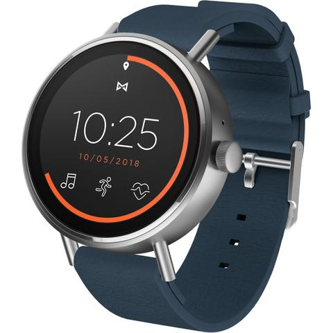 Misfit Vapor 2 46mm Smart Watch (Silver/Navy)