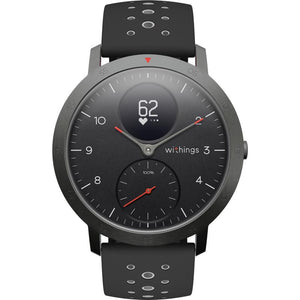 Withings Steel HR Sport Smart Watch (Black/Black)