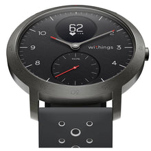 Load image into Gallery viewer, Withings Steel HR Sport Smart Watch (Black/Black)