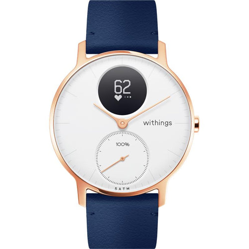 Withings / Nokia Steel HR Smart Watch (Rose Gold/Blue)