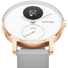Load image into Gallery viewer, Withings / Nokia Steel HR Smart Watch (Rose Gold/Grey)