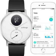 Load image into Gallery viewer, Withings / Nokia Steel HR 36mm Smart Watch (White)
