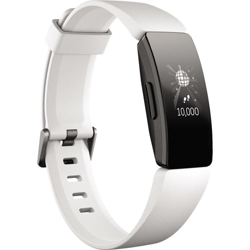 Fitbit Inspire HR (White/Black) - iChameleon