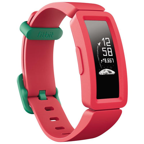 Fitbit Ace 2 Kids Activity Tracker (Watermelon/Teal) - iChameleon