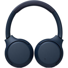 Load image into Gallery viewer, Sony WHXB700 On-Ear Wireless Extra Bass Headphones (Blue) - iChameleon