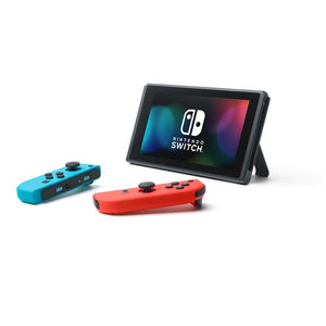 Nintendo Switch Console Neon (New Look Packaging) + Case + Screen Protector